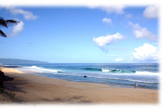 Banzai Pipeline Beach - North Shore, Oahu, Hawaii